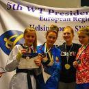 Мила Рељиќ освои бронзен медал на Президенс куп во Шведска