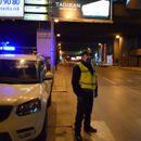 Пет лица во Скопје не го почитувале полицискиот час