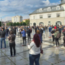 Владејачката партија во Косово побара избори преку перформанс со 2.000 луѓе