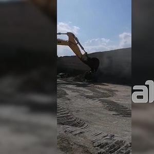 Охрид со булдожери продолжи да ја урива бетонската база на Нефи Усеини