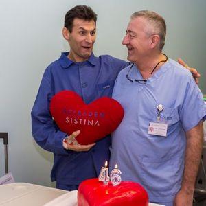 Пациентот со вештачко срце го прослави 46. роденден