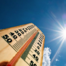 Сончево време со северен ветер, УВ индексот 8