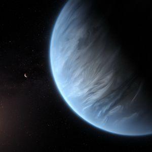 За прв пат Хабл откри водена пареа кај егзопланета во зоната погодна за живот
