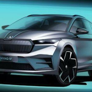 Škoda Enyaq iV na novim renderima
