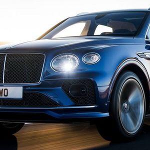 Obnovljeni Bentley Bentayga Speed