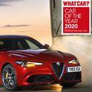 """""""Het trik"""" Alfa Romeo Giulia Quadrifoglio - nagrada za automobil godine 2020. magazina """"What Car?"""""""