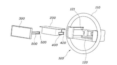 Hyundaijev patent - veliki ekran u centralnom delu upravljača