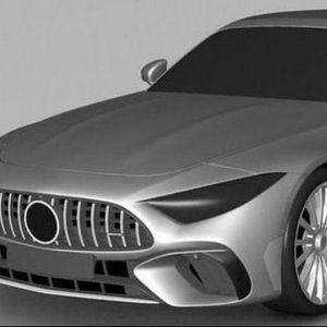 Novi Mercedes-AMG SL na patentnim slikama