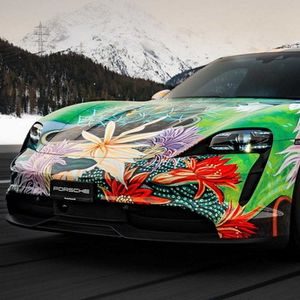No comment: Porsche Taycan 4S Art Car