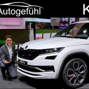 """Škoda Kodiaq RS лоша на тестот """"северен елен""""!."""