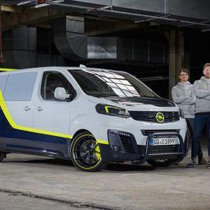 Opel O-Team Zafira Life, за120-години производство на автомобили Оpel!