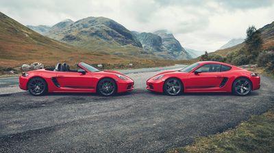Пристигаат електрични Porsche Boxster и Cayman