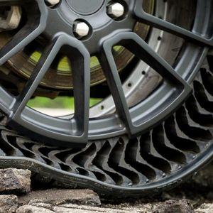 Револуционерно : Гуми без воздух – Michelin Uptis