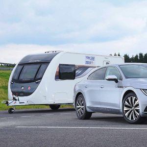 Volkswagen Arteon најдобро возило за влечење приколки!