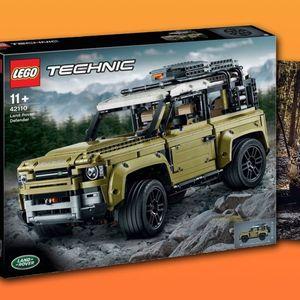 LEGO го открива изгледот на новиот Land Rover Defender!?