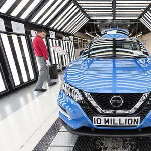 Во погоните на Nissan во Англија произведено 10 милионито возило!