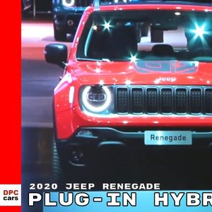 Jeep Renegade plug-in hubrid!