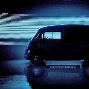 Најавен Morris JE – електрично комерцијално возило