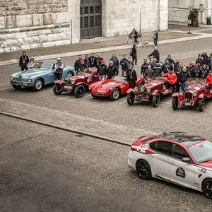 Alfa Romeo спонзор и на 1000 Miglia 2020