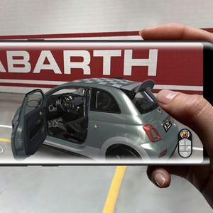 Новиот Abarth 695 70° Anniversario,откријте го преку виртуелна реалност