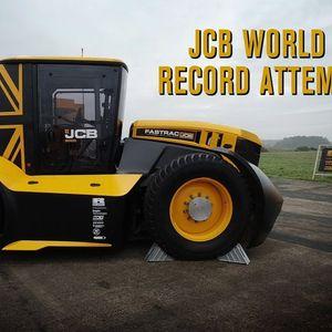 JCB Fastrac Two – најбрз трактор на светот со нов рекорд за Guinness