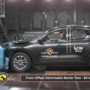 Новата генерација Ford Kuga со 5 ѕвезди на Euro NCAP тестот!
