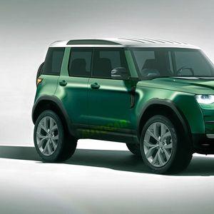 Пристигнува и мал Land Rover!