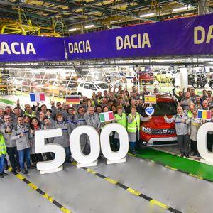 Во Романија произведена 500.000 Dacia Duster од втора генерација