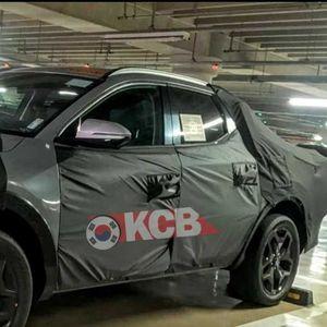"""Автомобилските """"папараци"""" го уловија новиот Hyundai Santa Cruz"""