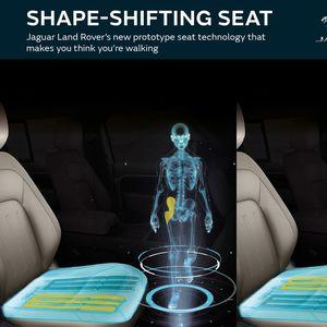 """Jaguar Land Rover со седишта што симулираат """"џогирање"""""""