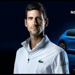 Светската тнисерска ѕвезда- Новак Ѓоковиќ во реклама за Peugeot e-208