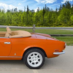 Електричен Fiat Spider 124 за 140.000 долари
