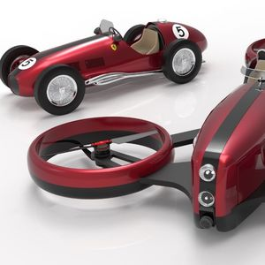 PD One автомобил што лета инспириран од Ferrari