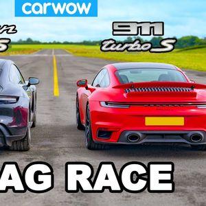 Porsche 911 Turbo S или Taycan Turbo S…?