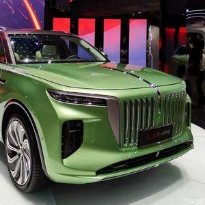 Hongqi претстави нов луксузен SUV на струја