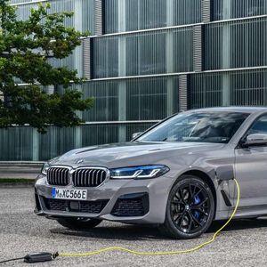 Plug-in hybrid BMW 545e