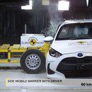 Toyota Yaris на Euro NCAP crash Test освои 5 ѕвездички