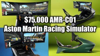 Тркачки симулатор на Asaton Martin за што чини колку BMW 5 или Mercedes E Class
