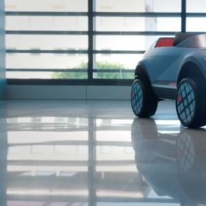 Hyundai со електрично возило за деца