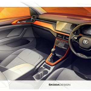 Škoda Kushaq први тизери од внатрешноста