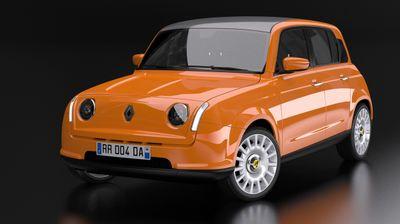 Новиот Renault 4 со електричен погон