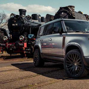 Новиот Land Rover Defender со додатна опрема во вид на корозија!