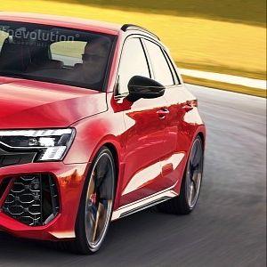 Audi RS3 со 400 КС