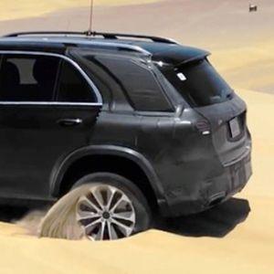 Новиот Mercedes GLE лесно ќе се справи со песочните препреки