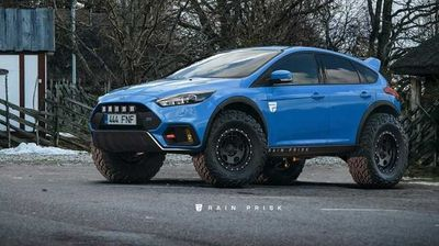 Викенд Тарифа: Ford Focus RS е единствениот теренски хечбек што ви е потребен