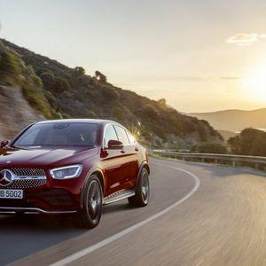 Претставен новиот Mercedes-Benz GLC Coupѐ