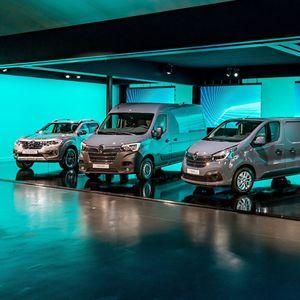 Groupe Renault покажа четири нови товарни возила