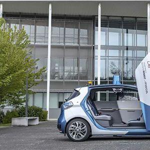 Автономно Renault Zoe такси