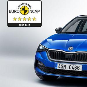 Новата Škoda Scala со 5 ѕвездички на Euro NCAP