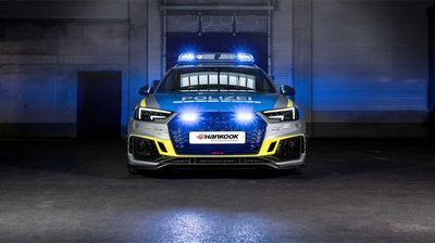 """Специјално """"полициско"""" издание: Тјуниран Audi RS4 Avant"""